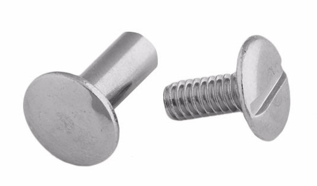 Replacement chicago screws pk second alarm custom leather